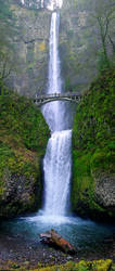 Multnomah Falls   By Eugene Spiegel by juniolinderman