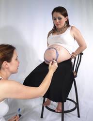 E + S Pregnant 3 by juniolinderman