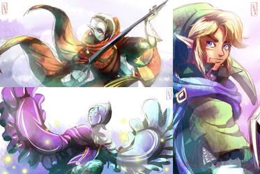 Master Swords by YAMsgardenART