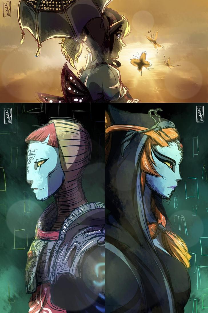 Warriors of Twilight by YvanieArtMaker