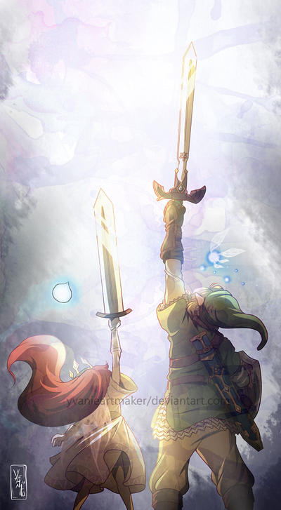 Skyward Swords by YvanieArtMaker