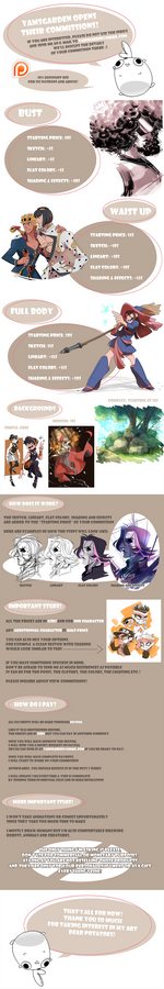 COMMISSIONS - OPEN!