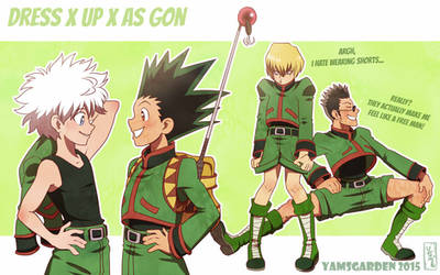 Dress up as Gon