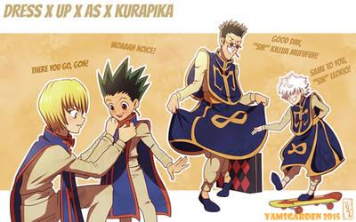 Dress up as Kurapika