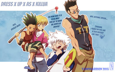 Dress up as Killua