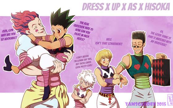 Dress up as Hisoka