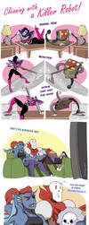 Cleaning with a Killer Robot PART 1 by YAMsgarden