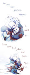 I just want to be with Sans by YAMsgarden