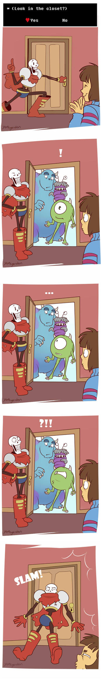 Monsters in the Closet by YAMsgarden