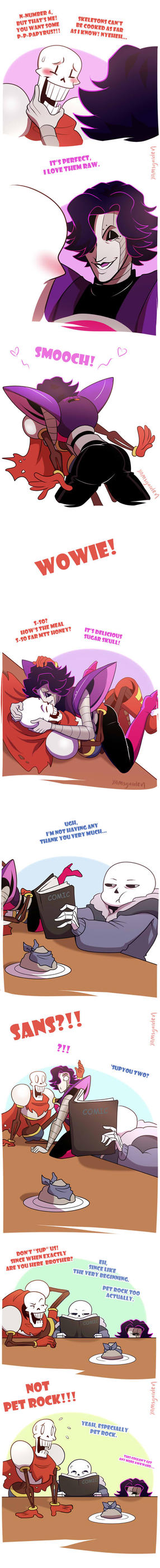 Papyrus on the menu Part 2 by YAMsgarden