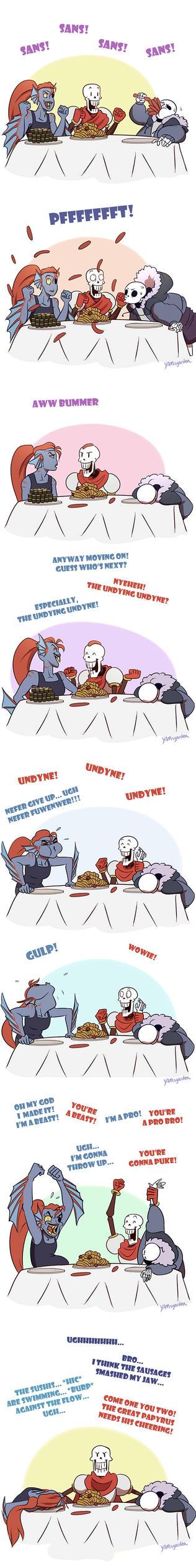 Food Contest by YAMsgarden
