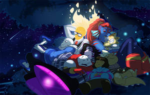 Starry Night by YAMsgarden