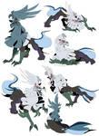 Pokemon - Silvally Doodles