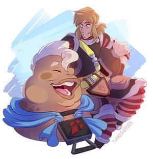 Link and Yunobo