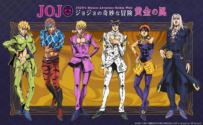 Jojo VentoAureoIsCONFIRMED by YAMsgarden