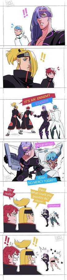 Jojo X Naruto - MeloGhia VS SasoDei Part 1