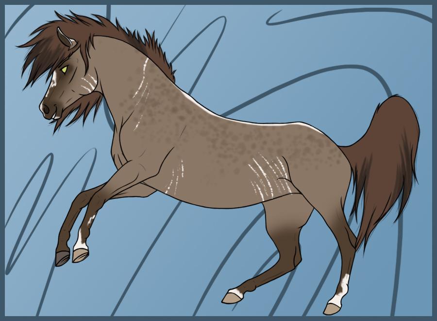 Stally for Larkbeat by Paardjee