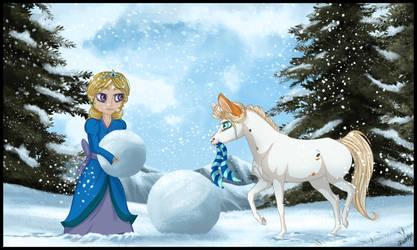 CM: Snowy Teamwork by Paardjee