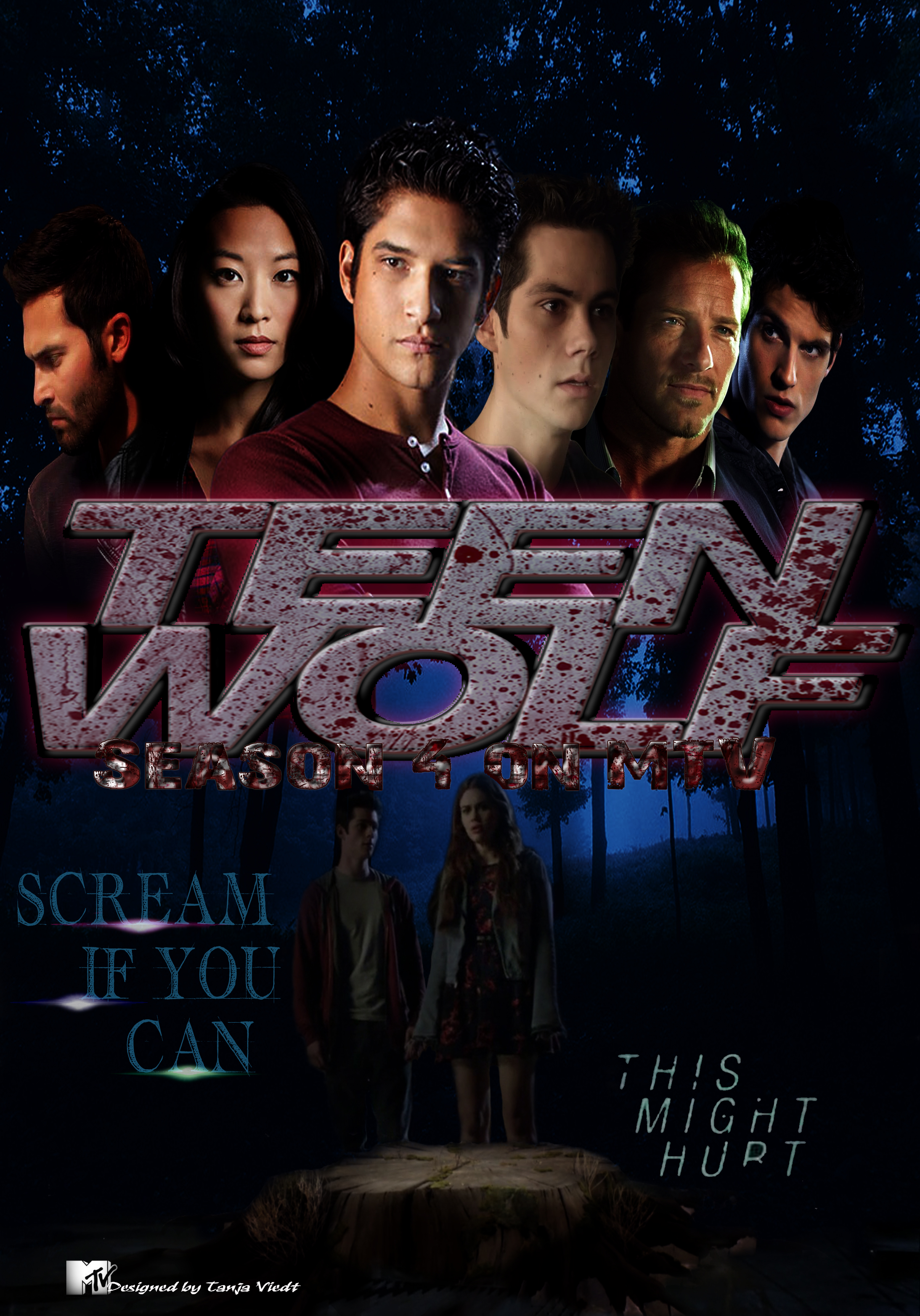 Teen Wolf Season 4 unoffical Poster by TanjaViedt on ...