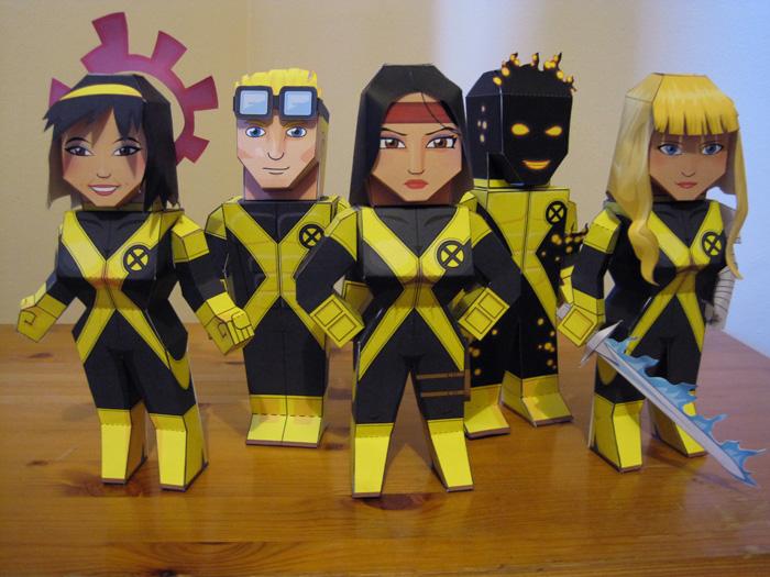 The New Mutants by xavierleo