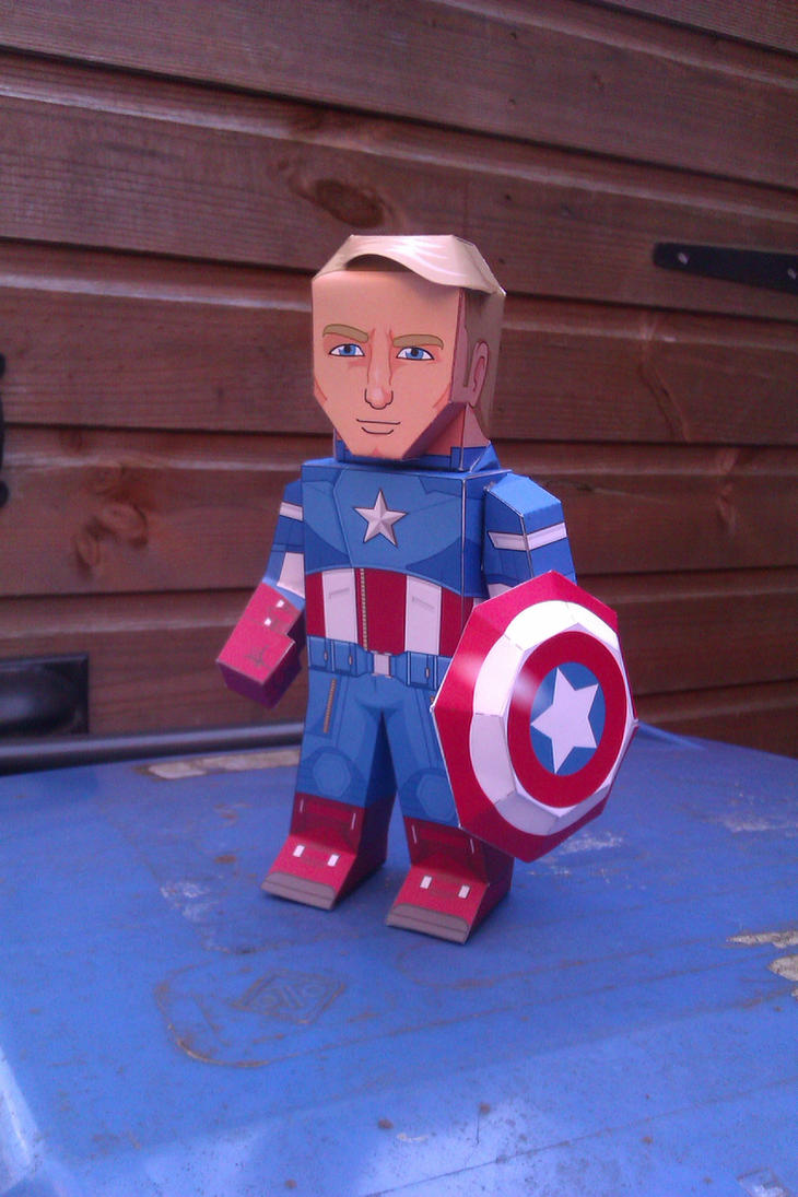 Captain America - Movie Version by xavierleo