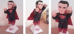 Man of Paper ( Superman - Man of Steel version ) by xavierleo