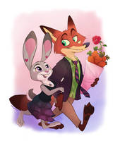 Valentine Date by marymouse