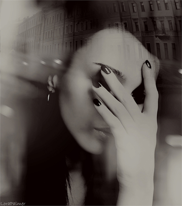 not talk good bye by LonelyPierot - Siyah-Beyaz  Bayan Avatarlar�