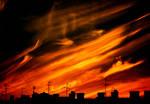 Burning heavens