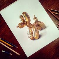 Balloondog by HannahLouCatherine