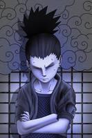naruto: shikamaru by radouane20
