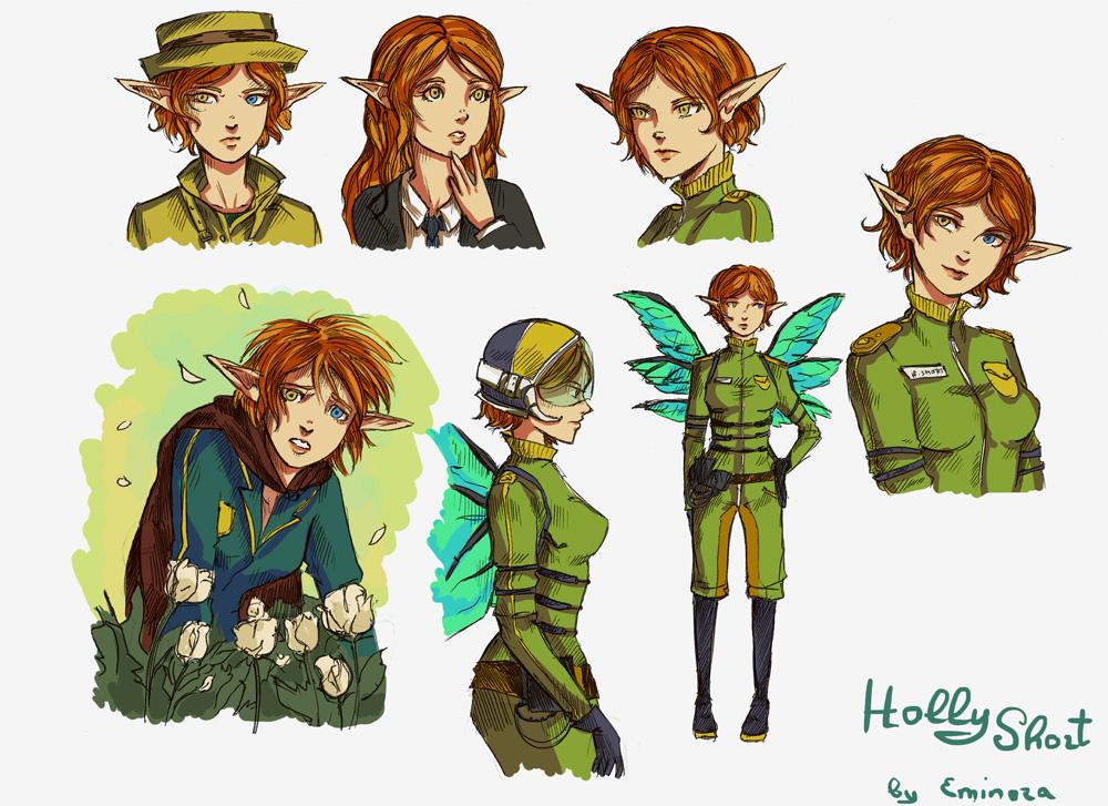 Holly Short Doodle By Eminora On Deviantart