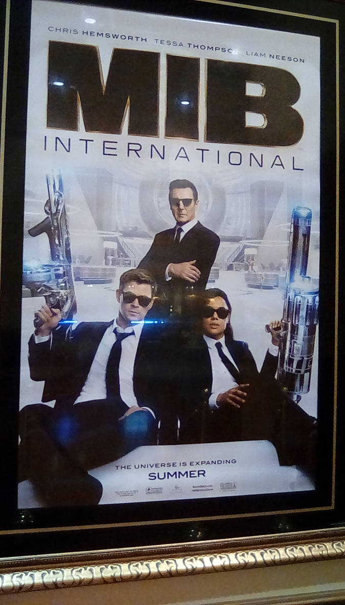 MIB International Poster