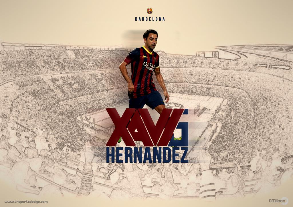 Xavi hernandez by oguzmilcan on deviantart xavi hernandez by oguzmilcan voltagebd Image collections