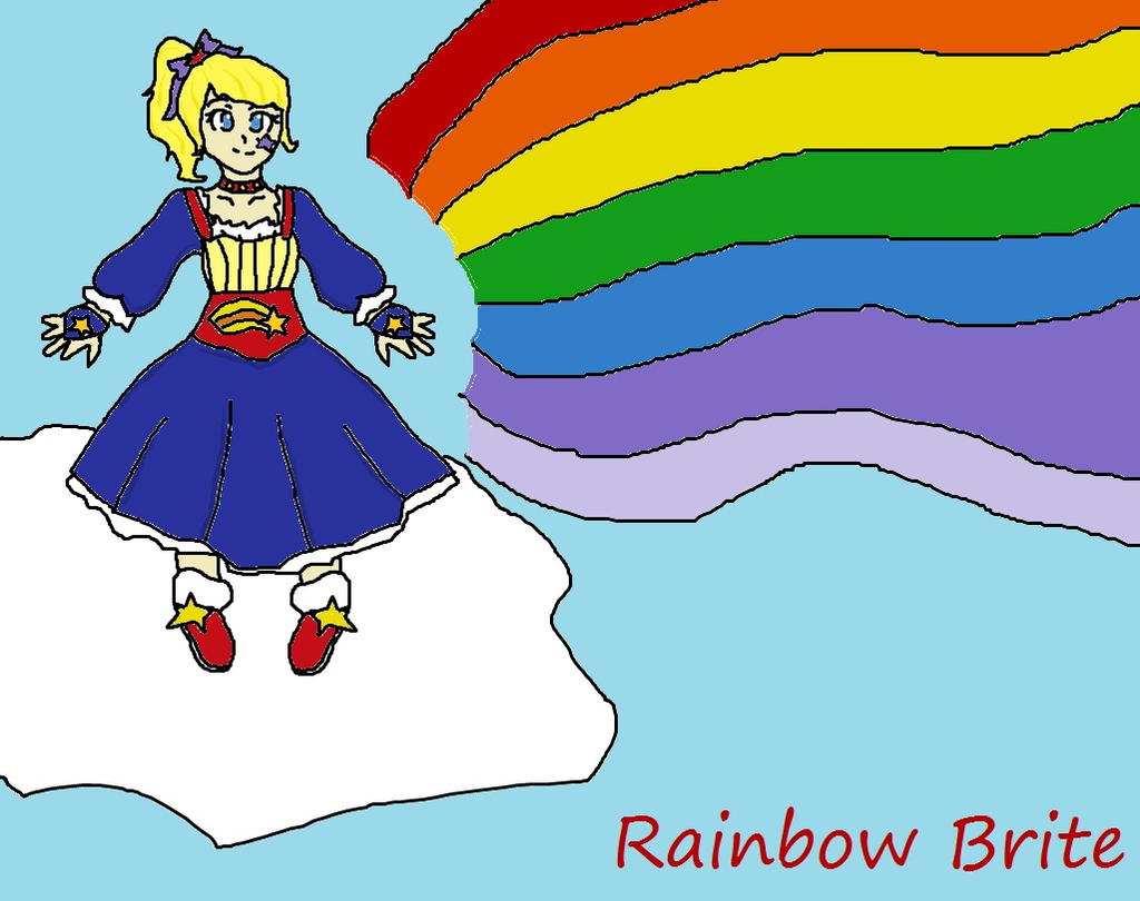 Rainbow Brite See The Shining Light by Code-Sonic