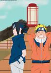 Naruto And Sasuke - The best friends
