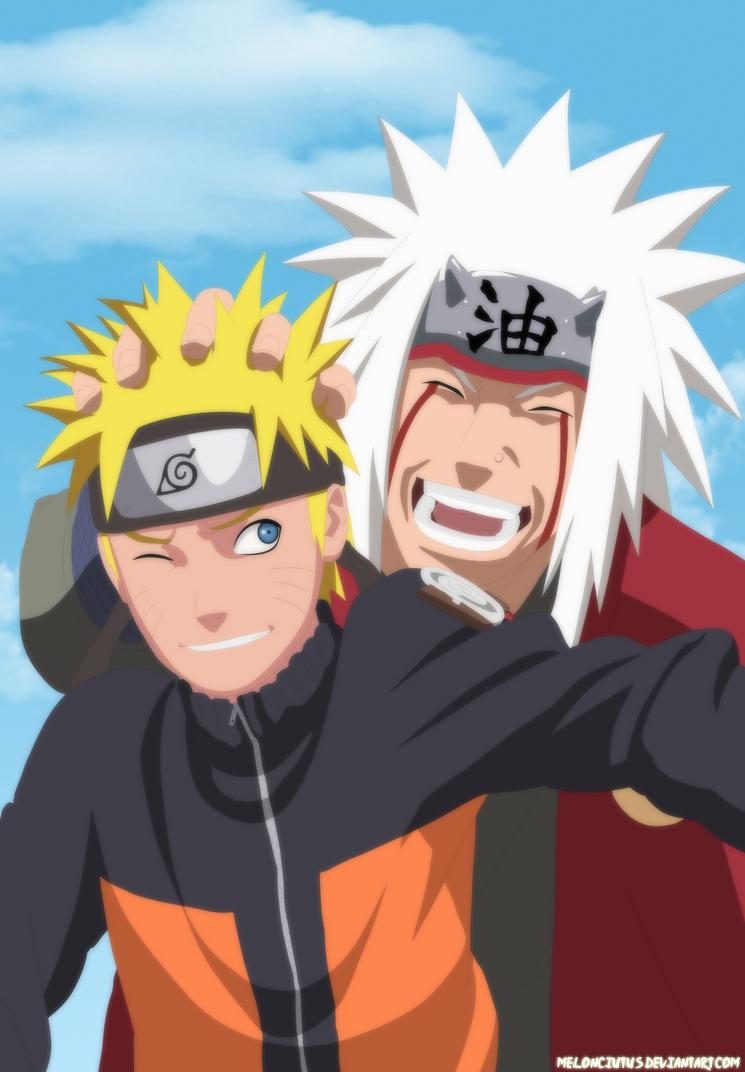 Naruto And Jiraiya By Melonciutus On Deviantart