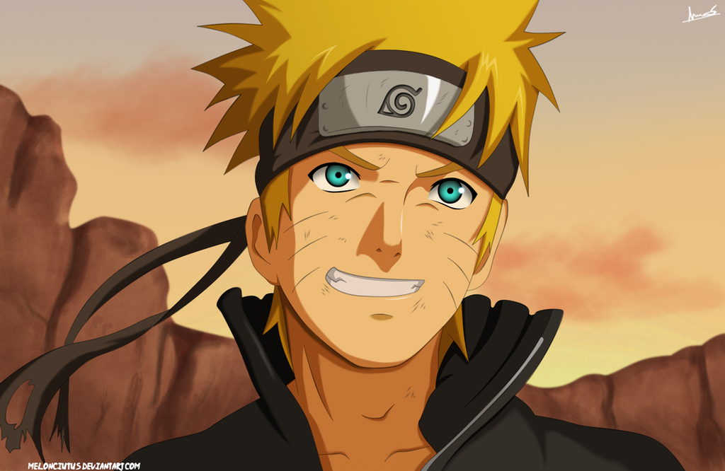Naruto Fan-art by Melonciutus