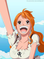 One Piece 843 - Nami by Melonciutus