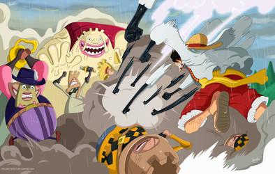 Naruto y One Piece by Melonciutus on DeviantArt