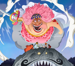 One Piece 873 - Big Mom by Melonciutus