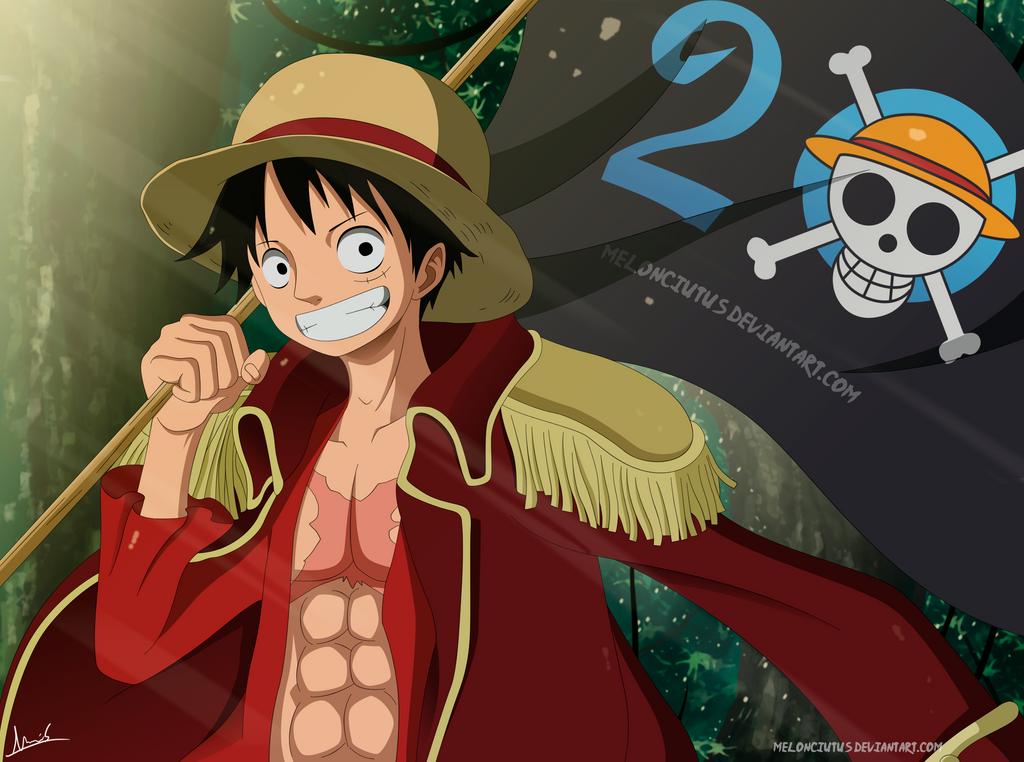 One Piece - 20 Aniversario!!! by Melonciutus