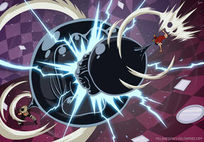 One Piece 879 - Luffy vs Katakuri by Melonciutus