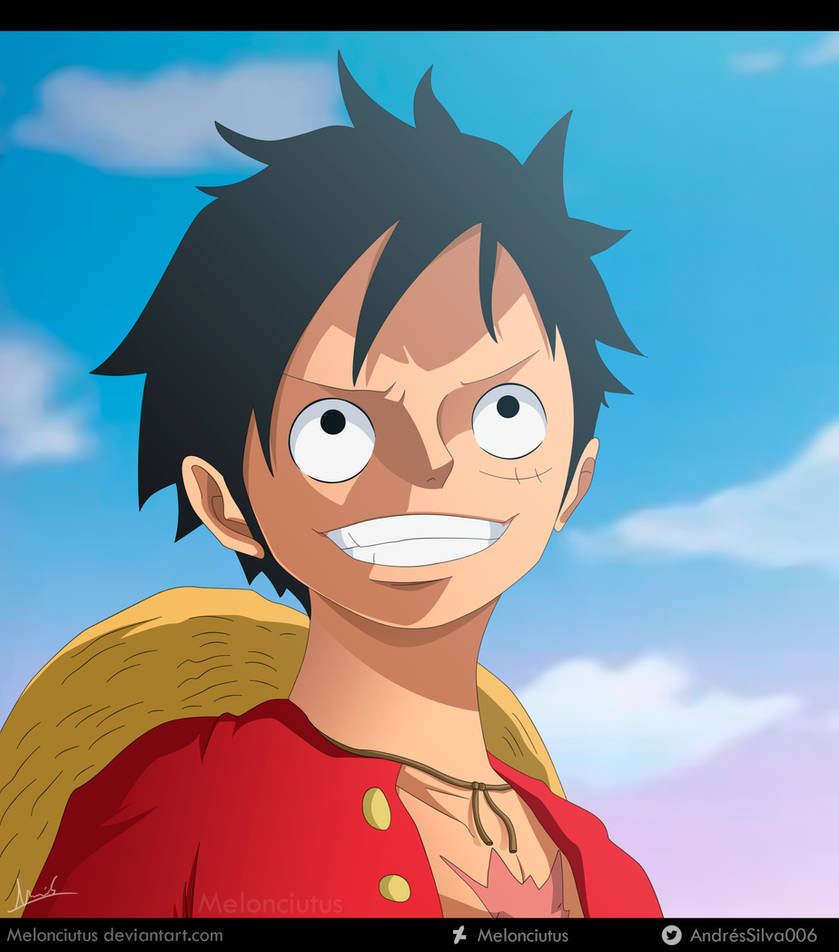One Piece 911 - Luffy by Melonciutus