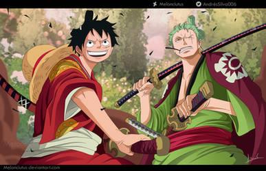 One Piece 912 - Luffy and Zoro