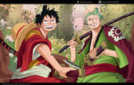 One Piece 912 - Luffy and Zoro