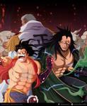 One Piece -Fanart - Monkey D. family