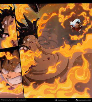 One Piece 917 - Luffy vs Holdem