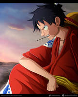 One Piece 918 - Luffy by Melonciutus