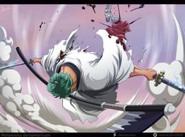 One Piece 937 - Roronoa Zoro ONIGIRI by Melonciutus